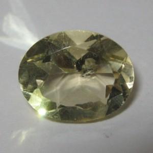 Oval Lemon Topaz 2.7 carat