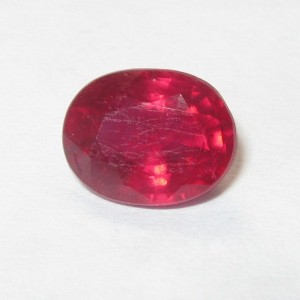 Natural Ruby Oval 1.56 carat
