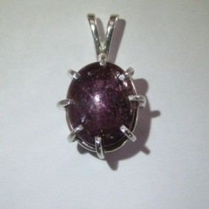 Liontin Silver 925 Star Ruby 18.45 carats
