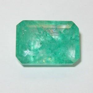 Colombia Emerald Rectangular 6.36 cts Harga Murah Tapi Asli