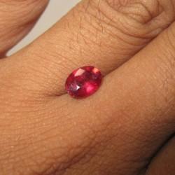 Batu Ruby Oval 1.59 carat