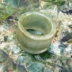 Cincin Giok Hijau 51 carat Ring 9.5US
