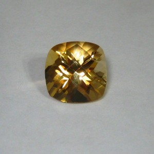 Cushion Buff Top Citrine 3.68 carat