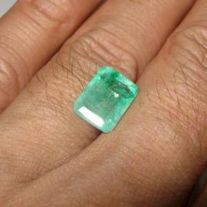 Zamrud Kolombia Rectangular 3.48 carat