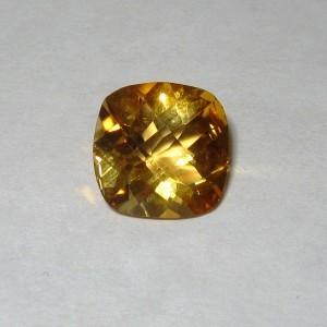 Natural Citrine Cushion 3.39 carat